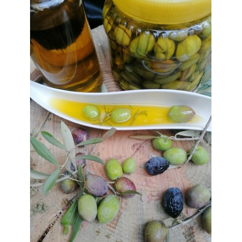 Kırma yeşil zeytin 1, kg
